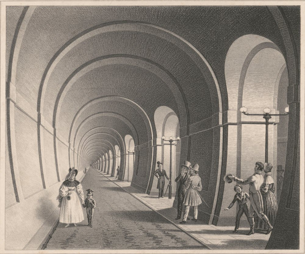 Thames Tunnel: The World's First Tunnel Under a River Photography